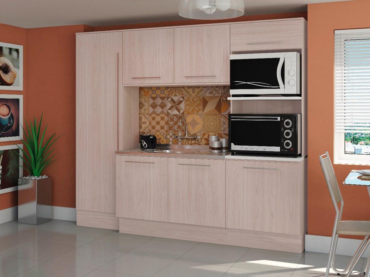 Cozinha Compacta Balc O Paneleiro Arm Rio 4 P S Kappesberg R