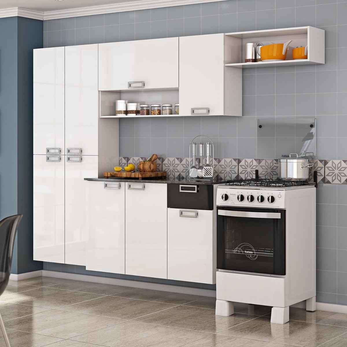Cozinha Compacta Com Balc O Amora Itatiaia Hjwt R 403 10 Em