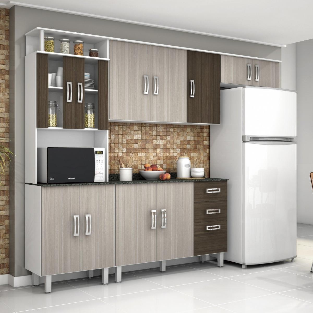 Cozinha Compacta Com Balc O E Tampo 4 Pe As Su A Fdwt R 575 90