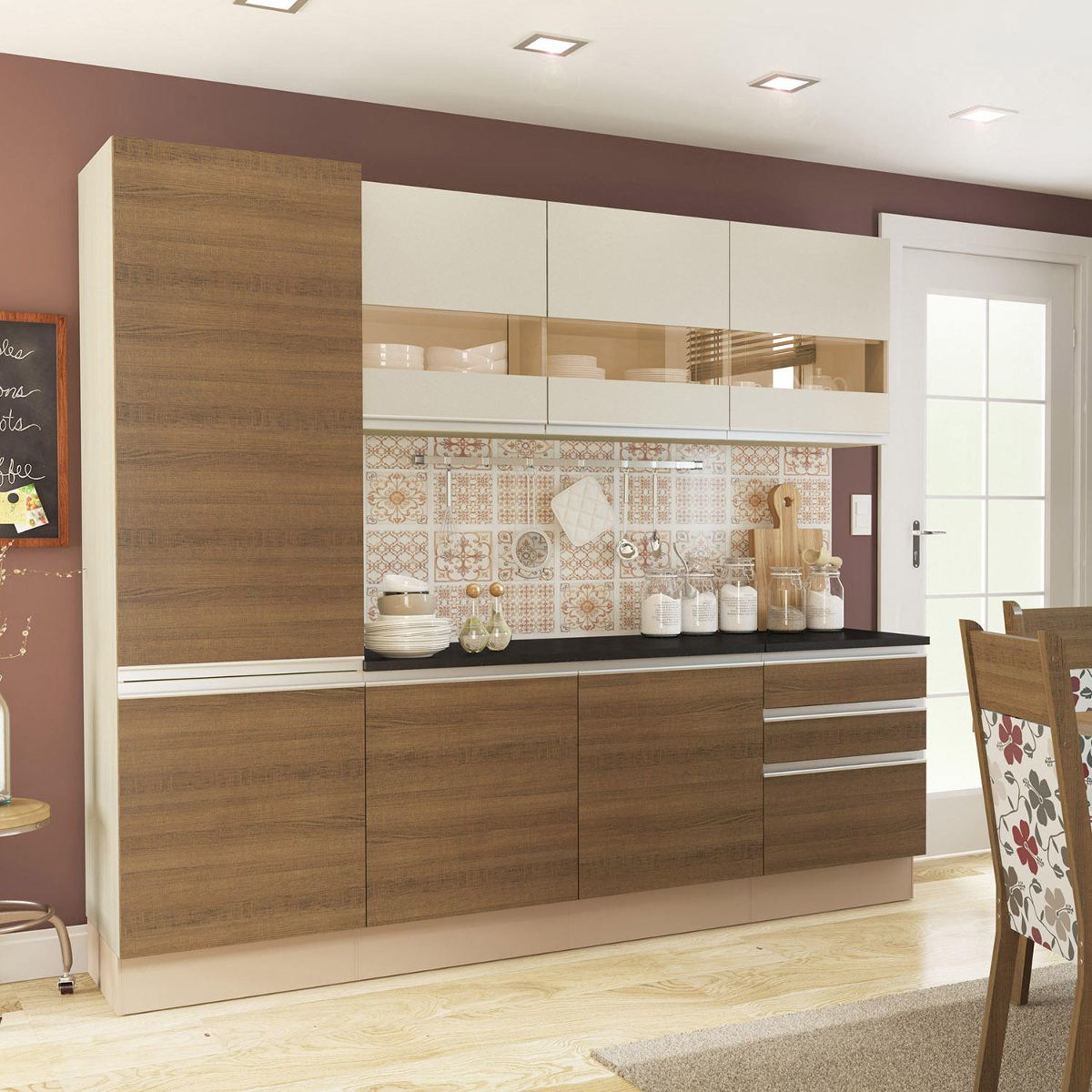 Cozinha Completa Colors Three Madesa Oppenau Info