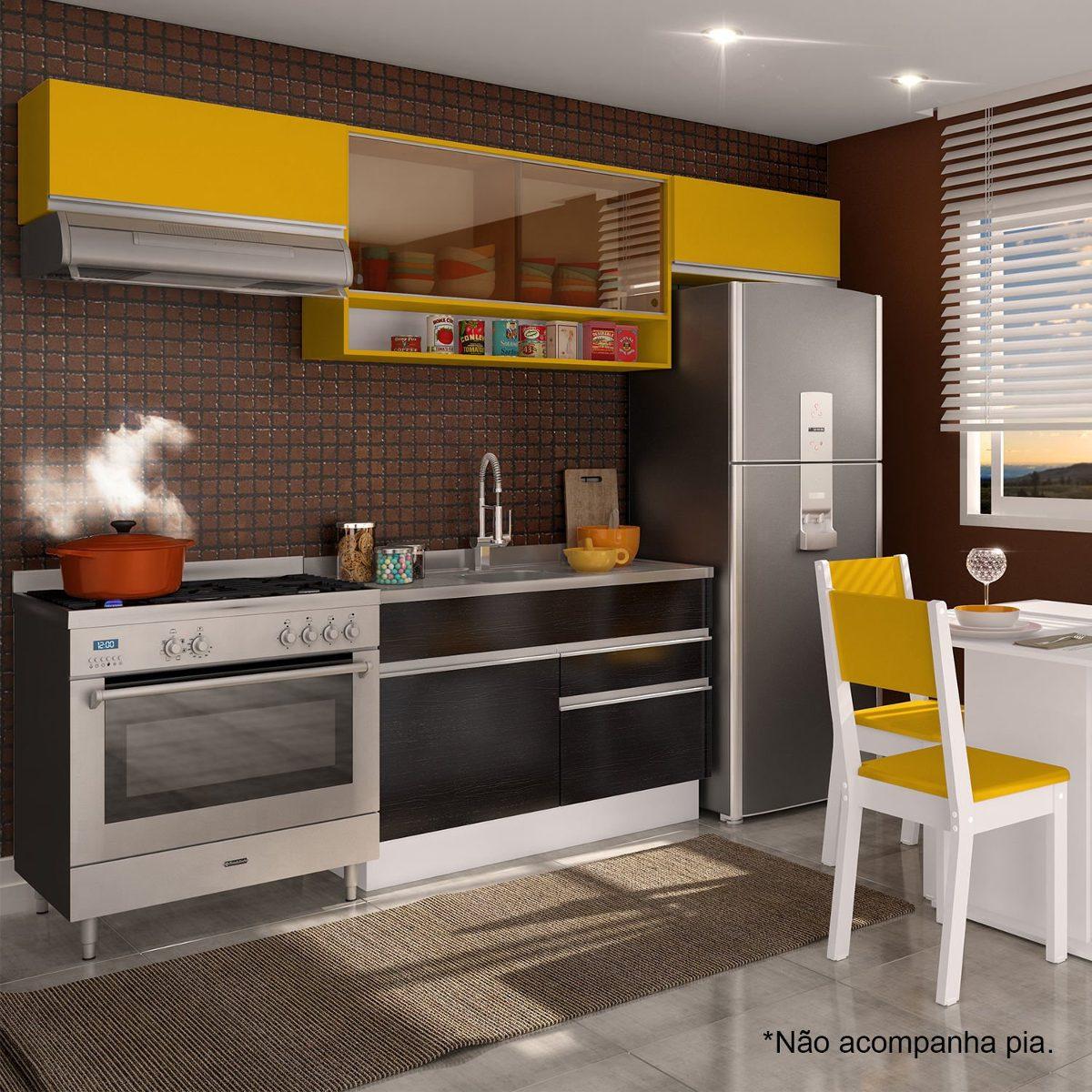 Cozinha Compacta Glamy Marina Madesa N O Acompanha Icwt R 710