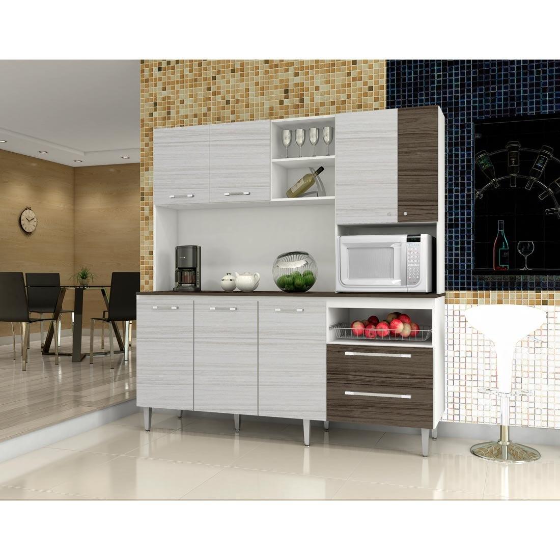 Cozinha Compacta Jade Rovere Kits Paran R 659 89 Em Mercado