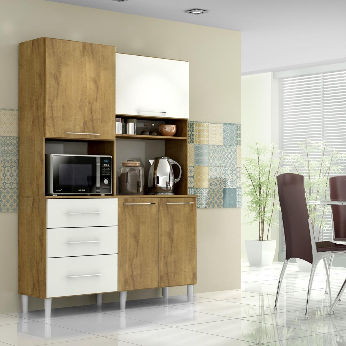 Cozinha Compacta Juliana Castanho Branco R 680 00 Em Mercado Livre
