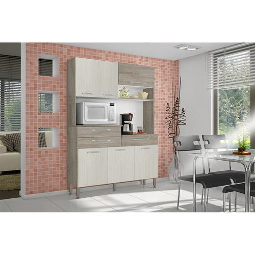 cozinha compacta kits 6 portas orion
