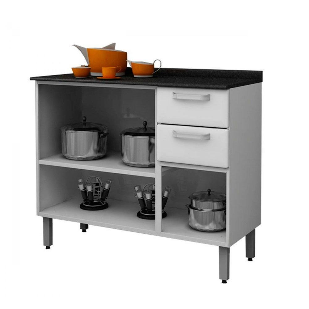 Cozinha Compacta Luce 13 Portas 2 Gavetas Em A O Itatiaia R 935