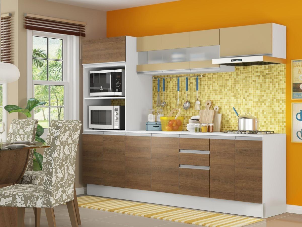 Cozinha Compacta Madesa Smart G20073097g Com Balc O 12 Por R