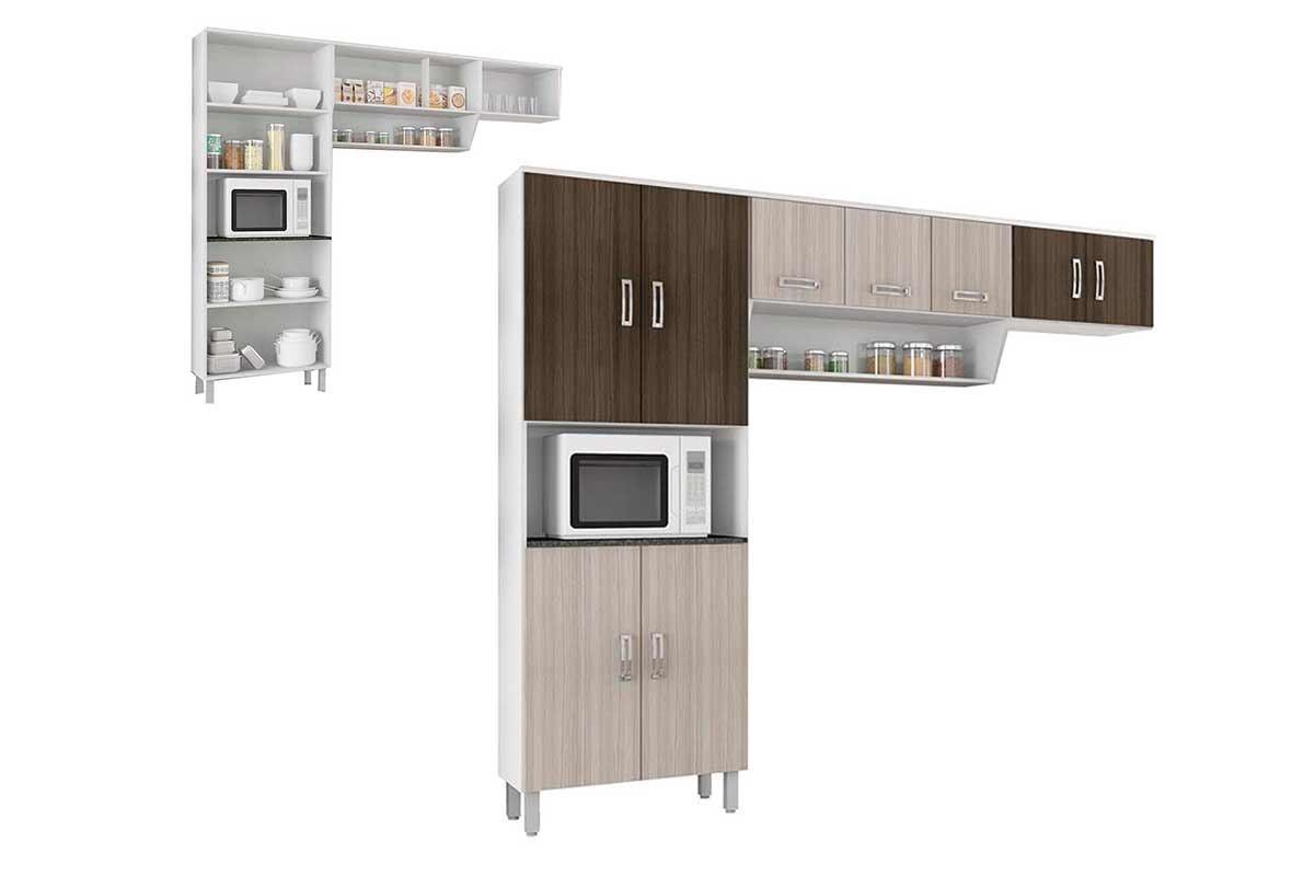 Cozinha Compacta Poliman Rovere Am Ndoa Franciele 3 Pe As R 367