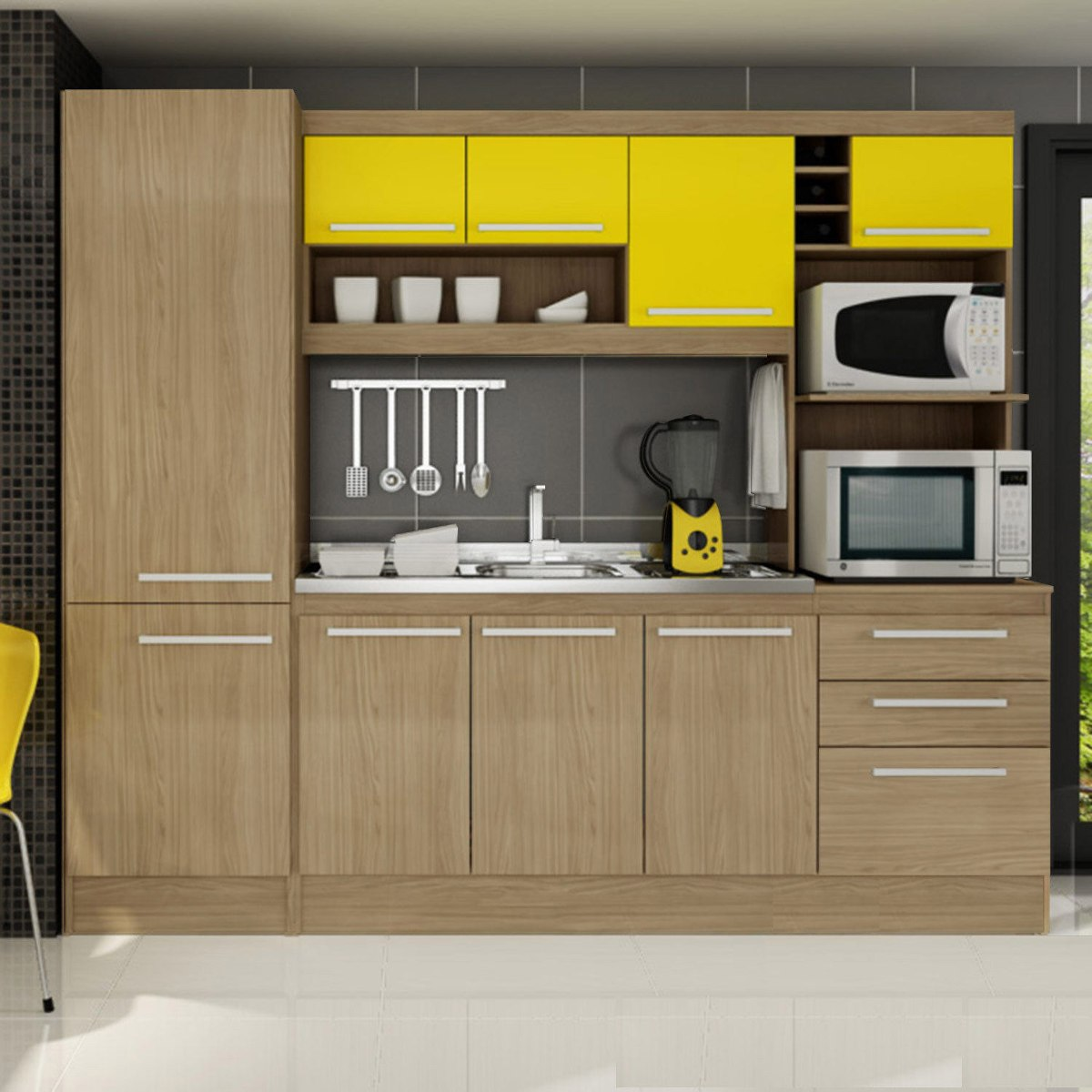 Cozinha Compacta Sevilha 210 Gralar N O Acompanha Cuba R 869 90