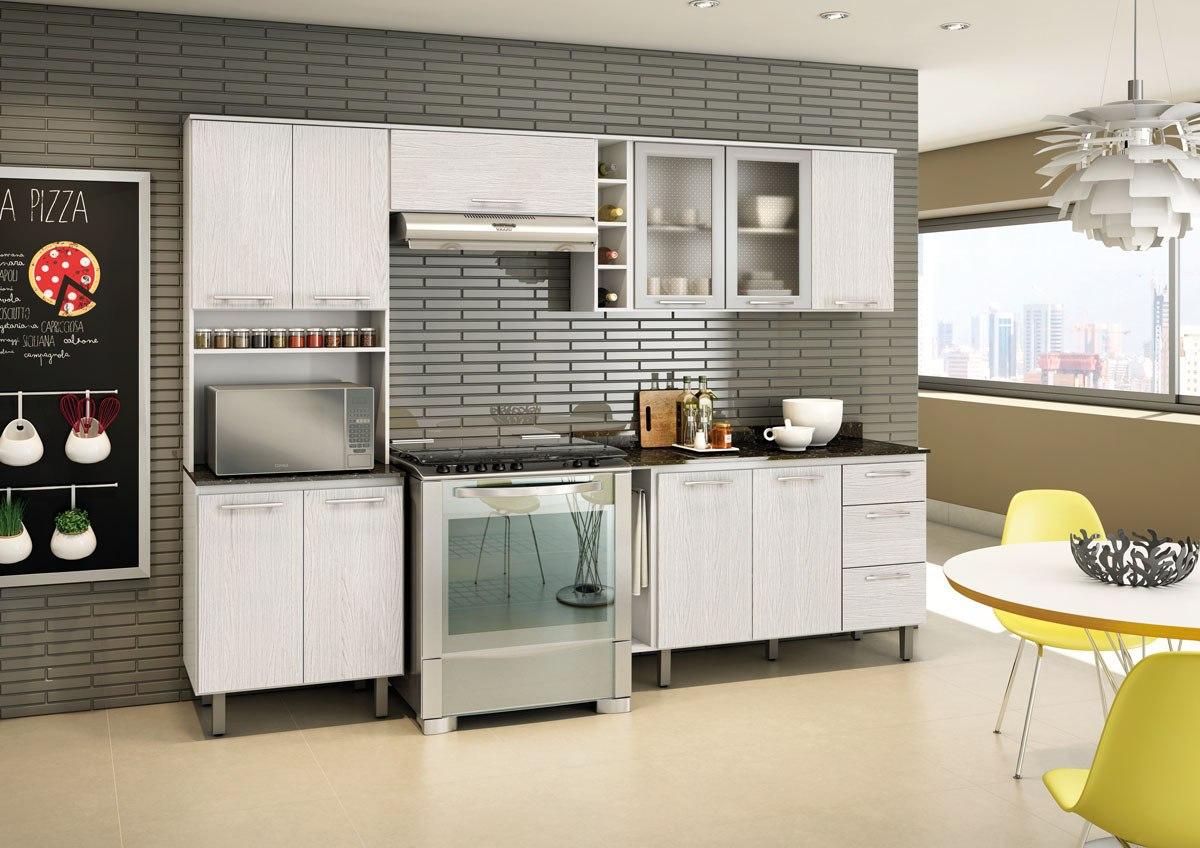 Cozinha Complet Branco E Arezzo Tok 100 Mdf Nicioli R 1 299 00