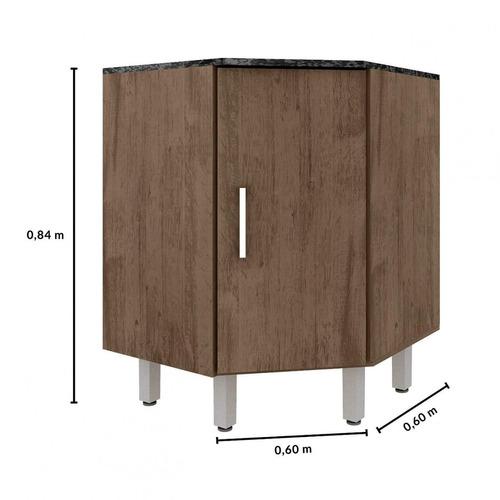 cozinha completa 10 peças suíça poliman móveis db