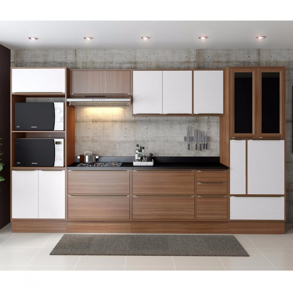 Cozinha Completa 11 M Dulos 14 Portas Cal Bria Ja R 2 199 90 Em