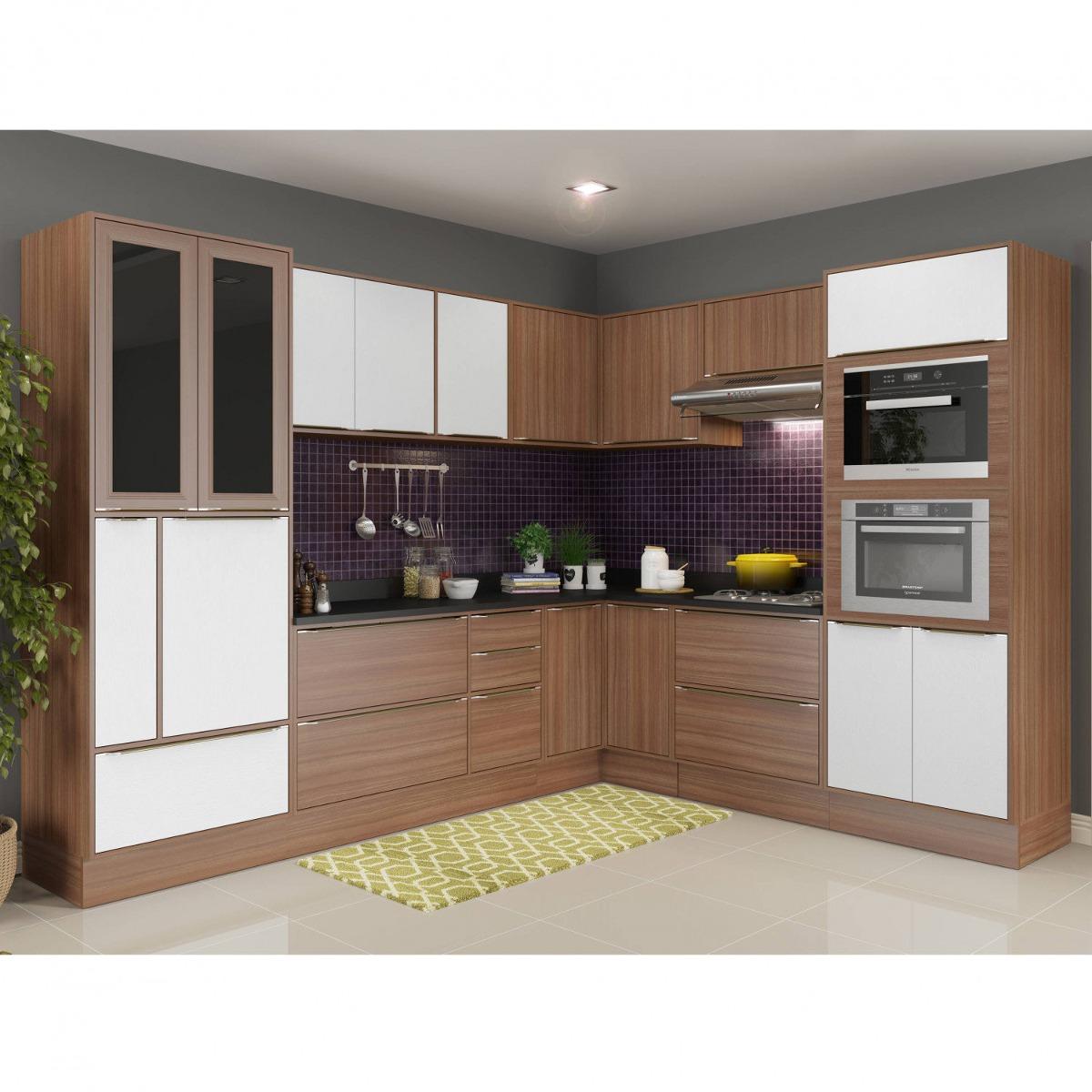 Cozinha Completa 15 M Dulos 19 Portas Cal Bria Jfwt R 3 455 90 Em