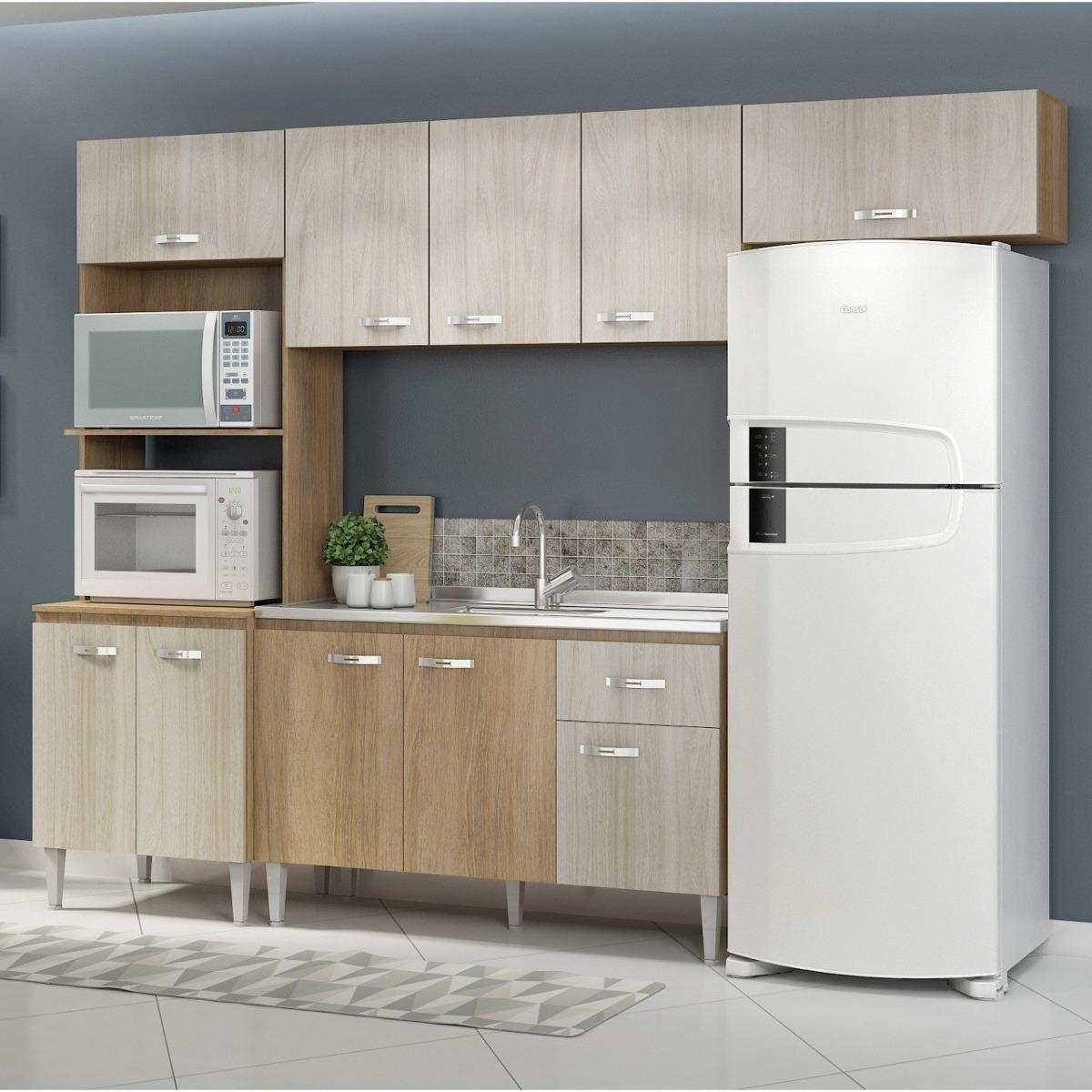 Cozinha Completa 4 M Dulos 10 Portas 1 Gaveta Cris Ic R 649 90 Em