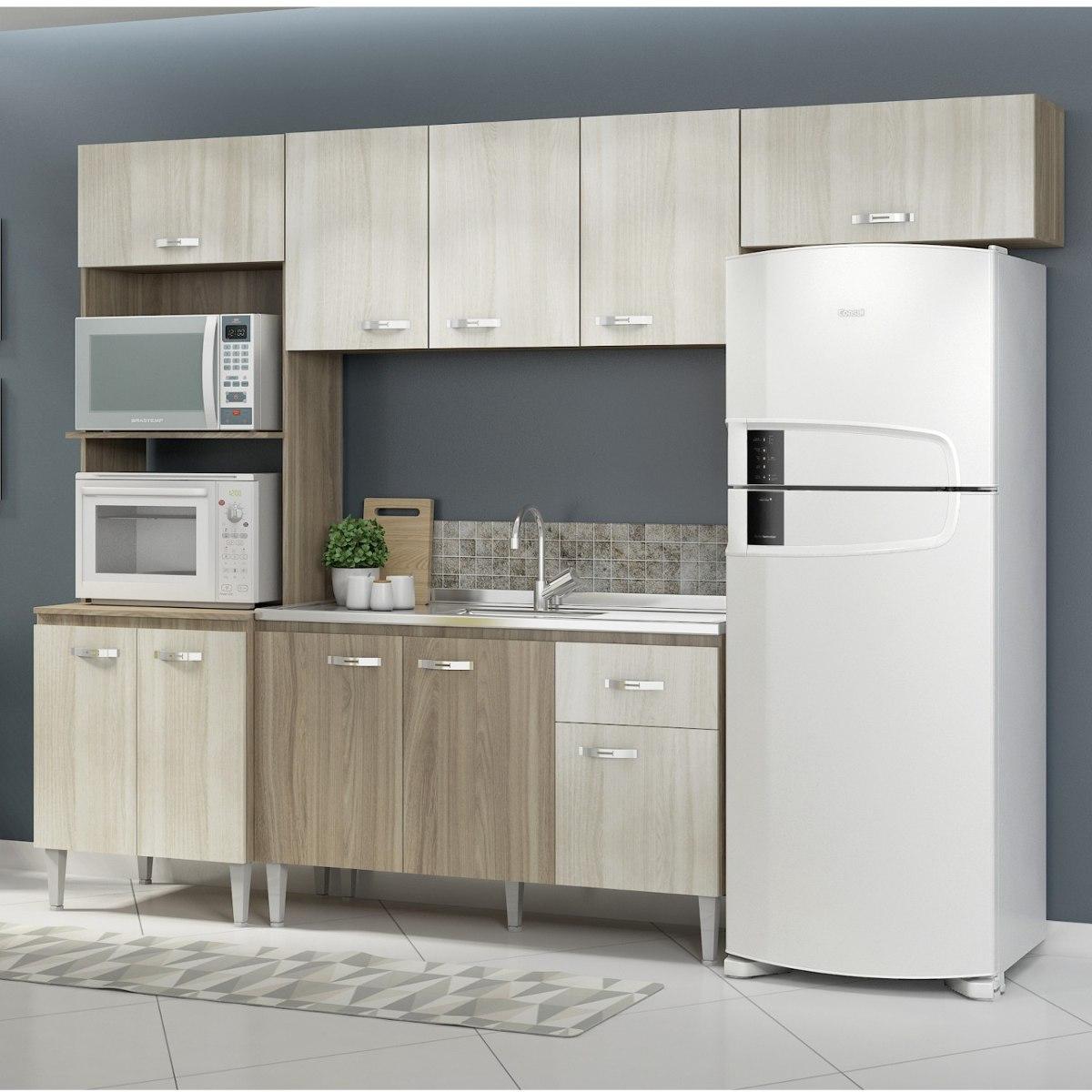 Cozinha Completa 4 M Dulos 10 Portas 1 Gaveta Cris Si Ibwt R 575