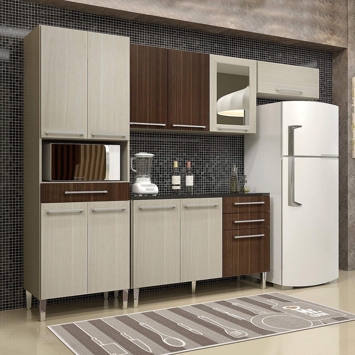 Cozinha Completa 4 Pe As Com Tampo Rubi Chf C R 1 819 90 Em
