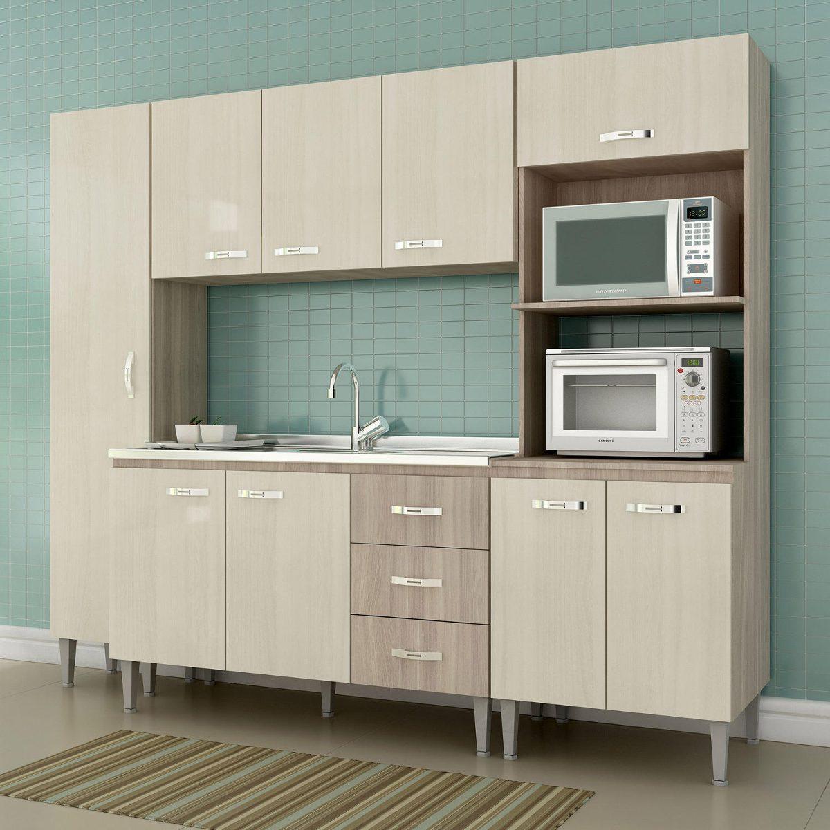 Cozinha Completa 4 Pe As Master Siena M Veis Sbianca Hi R 729 90