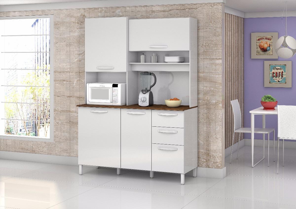 Cozinha Completa 4 Portas Diamante R 424 80 Em Mercado Livre