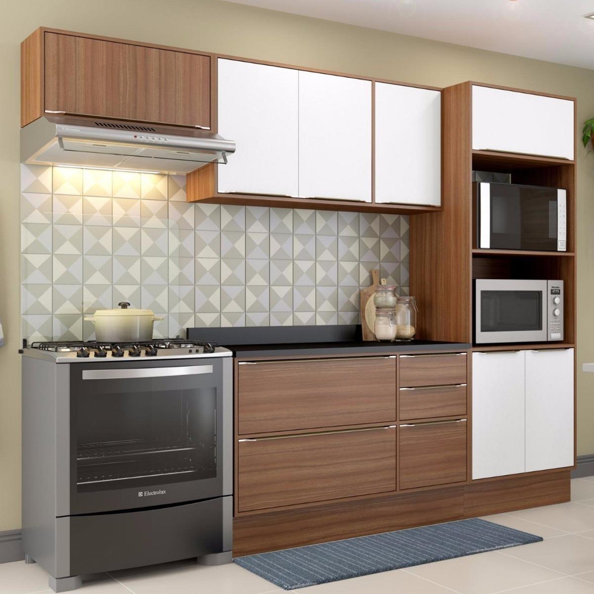 Cozinha Completa 5 M Dulos 8 Portas E Rodap Ba R 1 209 90 Em