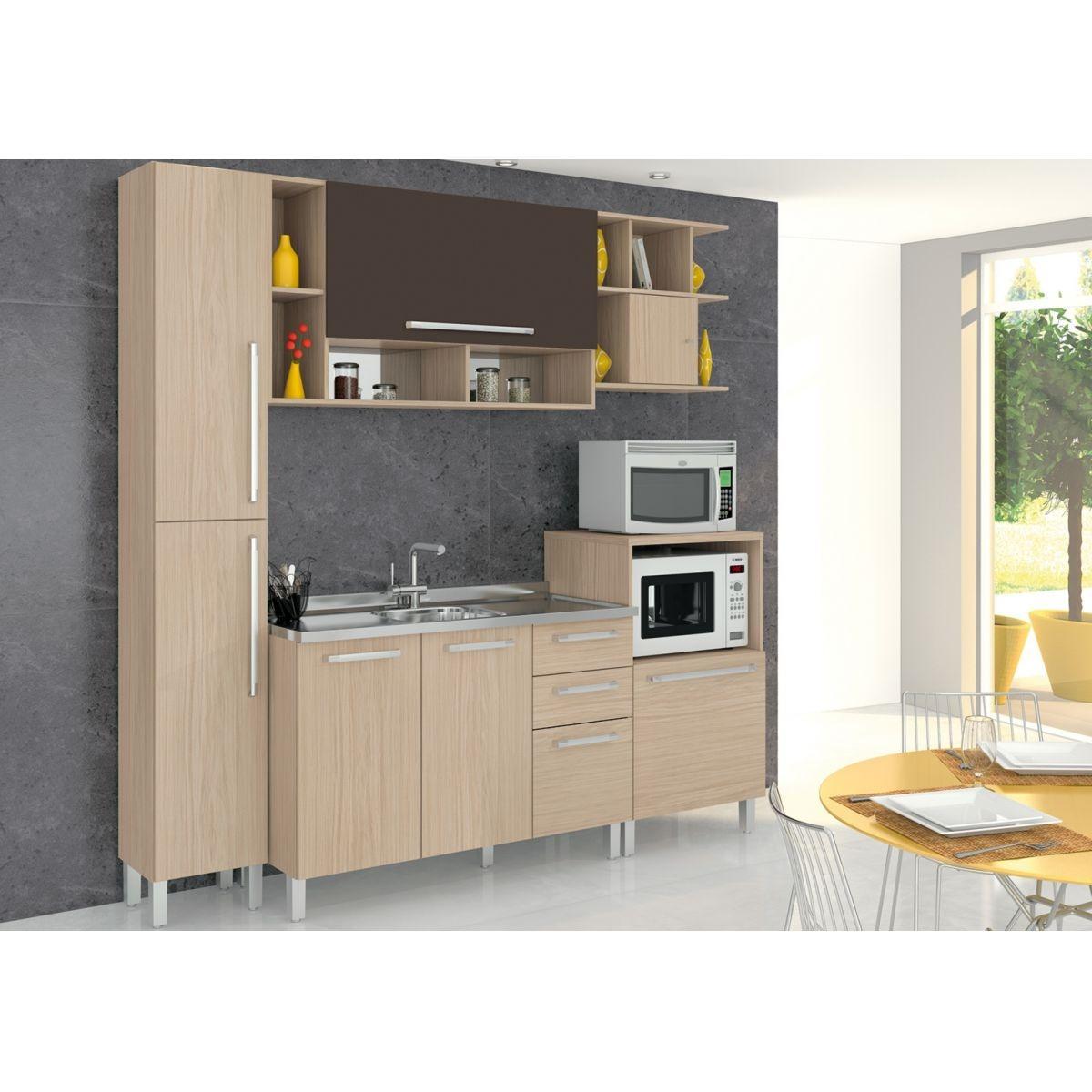 Cozinha Completa 5 Pe As Ambiente 2 Smart Lojix R 1 499 90 Em