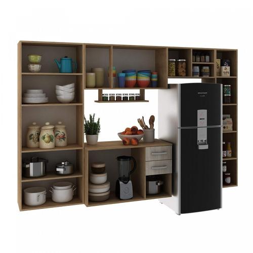 cozinha completa 5 peças isadora siena móveis bgwt