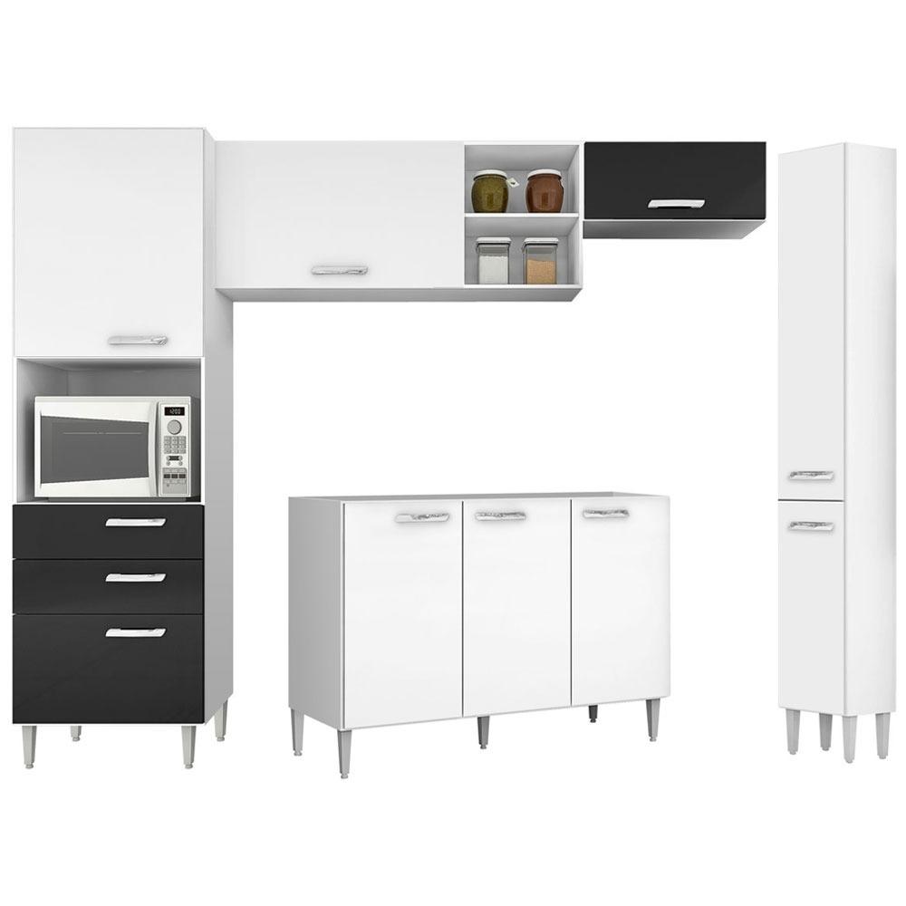 Cozinha Completa 5 Pe As Nat Lia Poquema R 699 00 Em Mercado Livre
