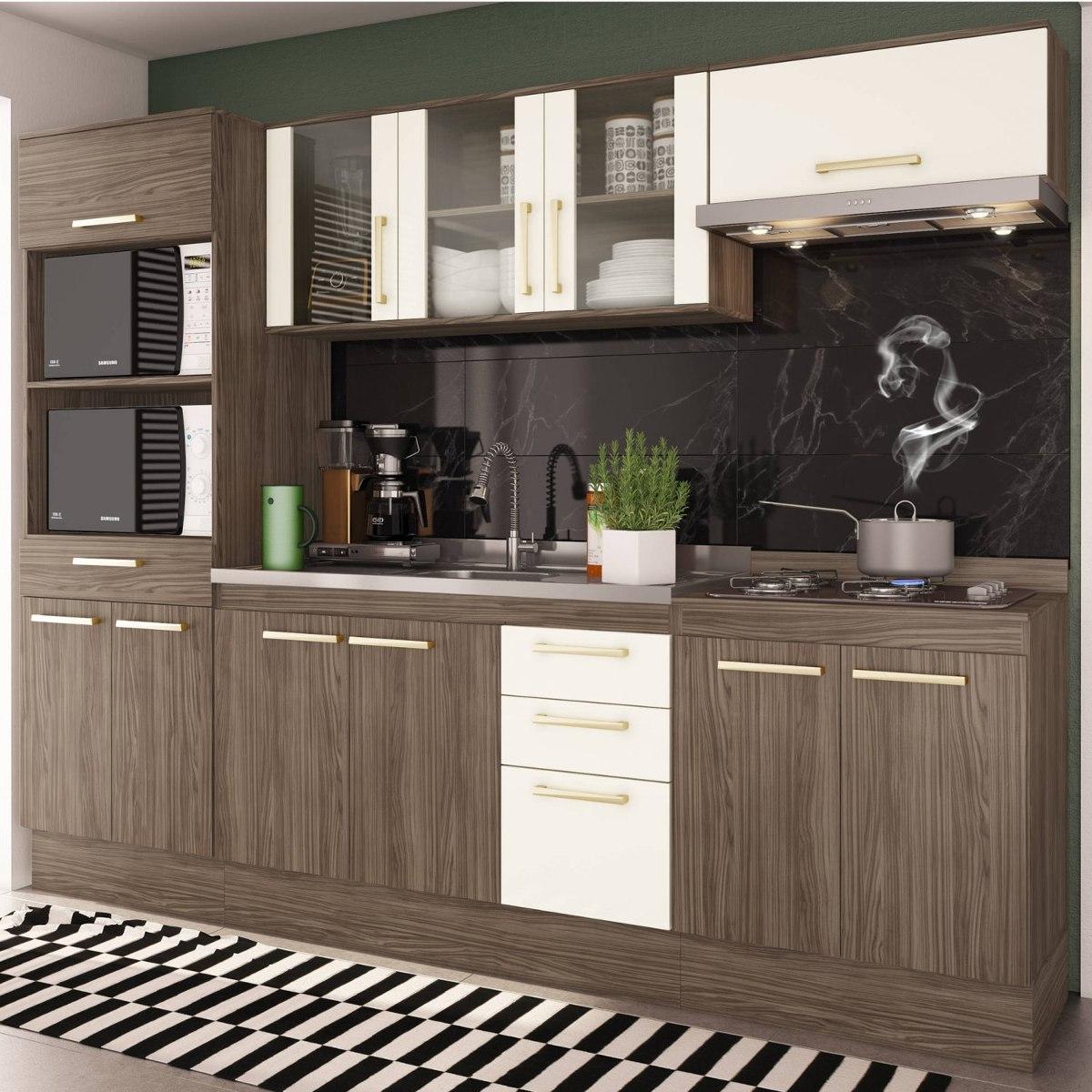 Cozinha Completa 5 Pe As Zafira A1899 Casamia N O Bi R 1 159 90