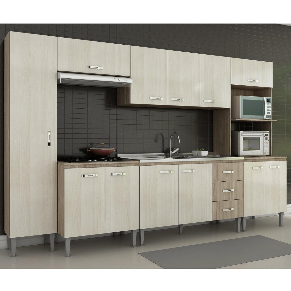 Cozinha Completa 6 Pe As Master Siena M Veis N O A Ig R 999 90