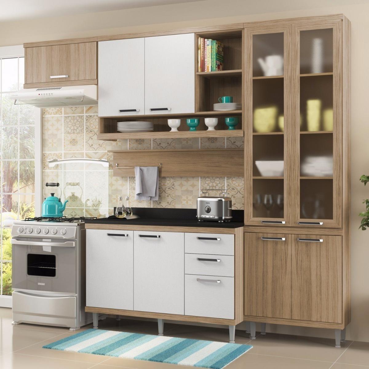 Cozinha Completa 6 Pe As Sic Lia S9t Multim Veis Ei R 1 789 90 Em