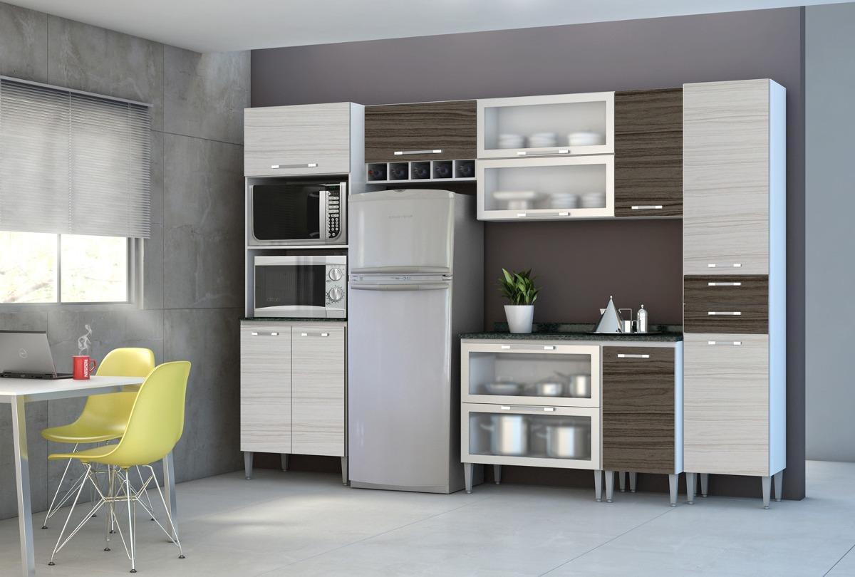 Cozinha Completa 7 Pe As Arm Rios Balc O Paneleiro R 1 850 00 Em
