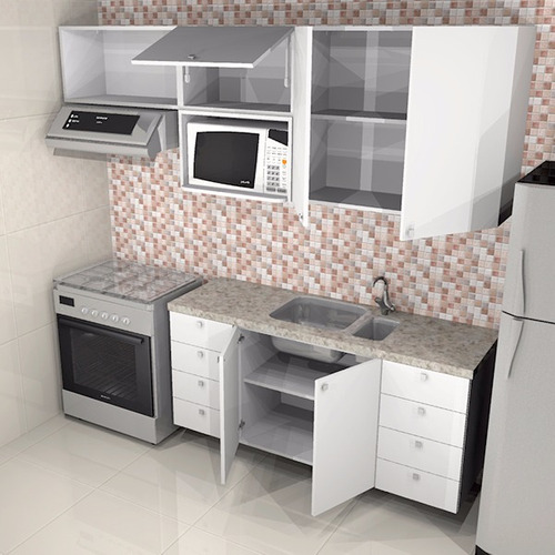 cozinha completa, 8 gavetas grandes, 100% mdf 18mm, oferta!
