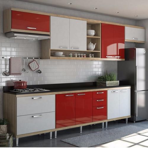 cozinha completa 8 peças sicília s1t multimóveis ef