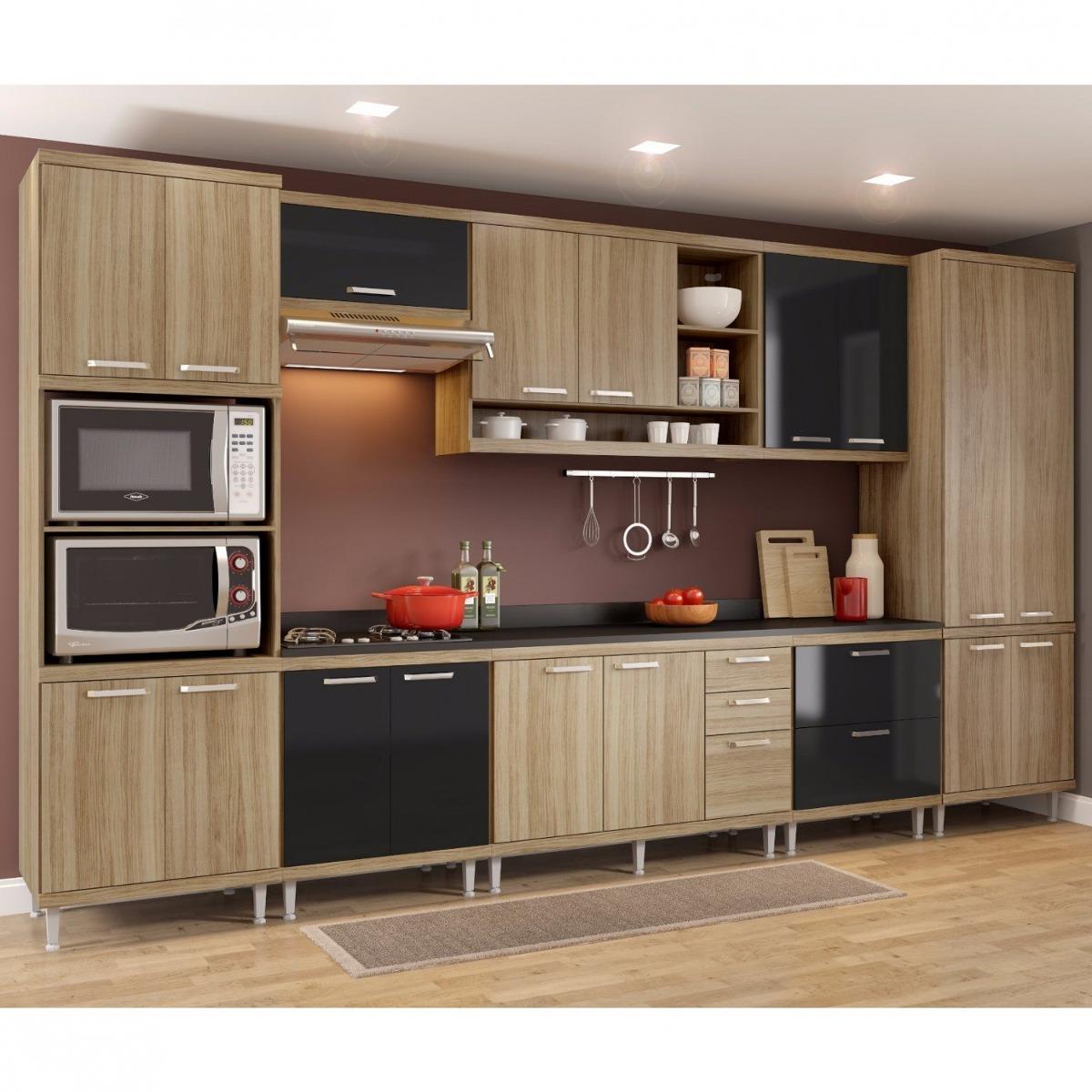Cozinha Completa 9 Pe As Sic Lia S16t Multim Veis Gd R 3 099 90