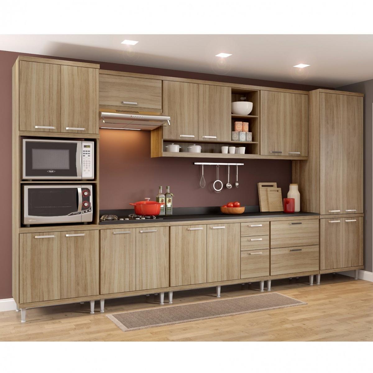 Cozinha Completa 9 Pe As Sic Lia S16t Multim Veis Ge R 3 099 90