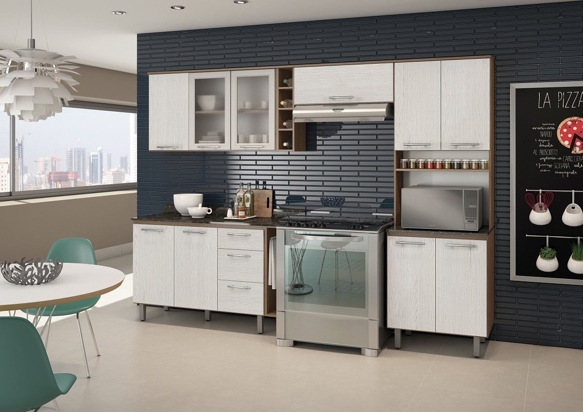 Cozinha Completa Am Ndoa E Arezzo Tok 100 Mdf Nicioli R 1 269