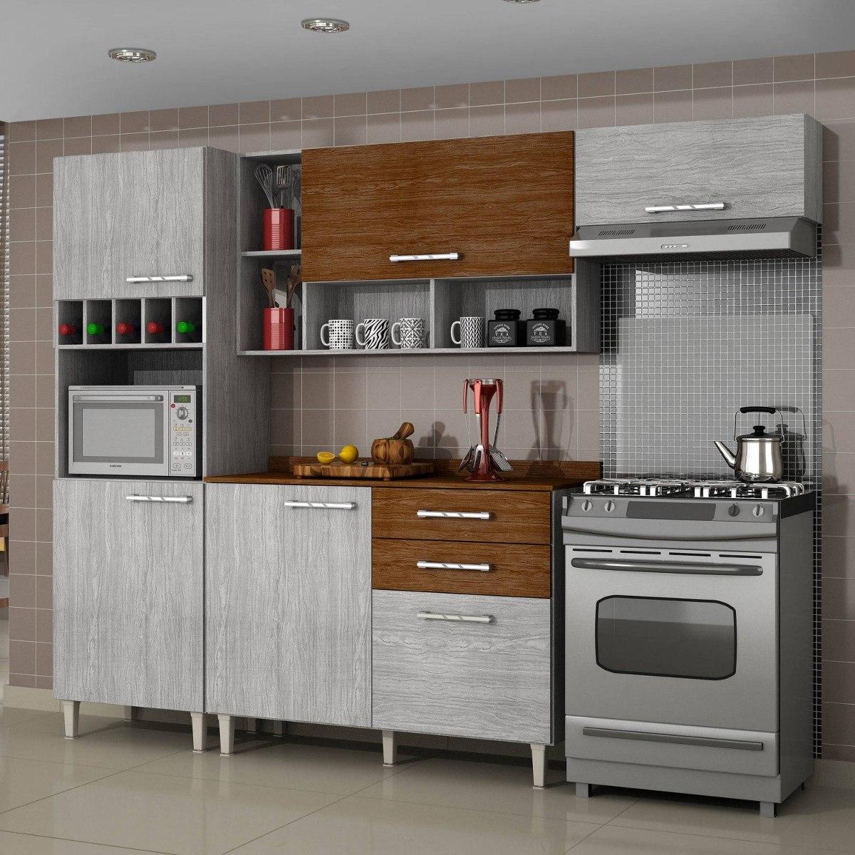 Cozinha Completa Balc O Com Tampo 4 Pe As Gatha Gb R 899 90 Em