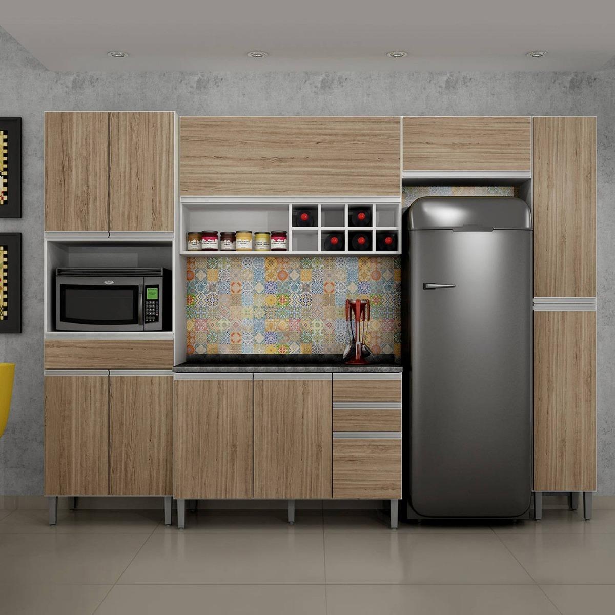 Cozinha Completa Balc O Com Tampo 5 Pe As Carrara I B R 1 349 90