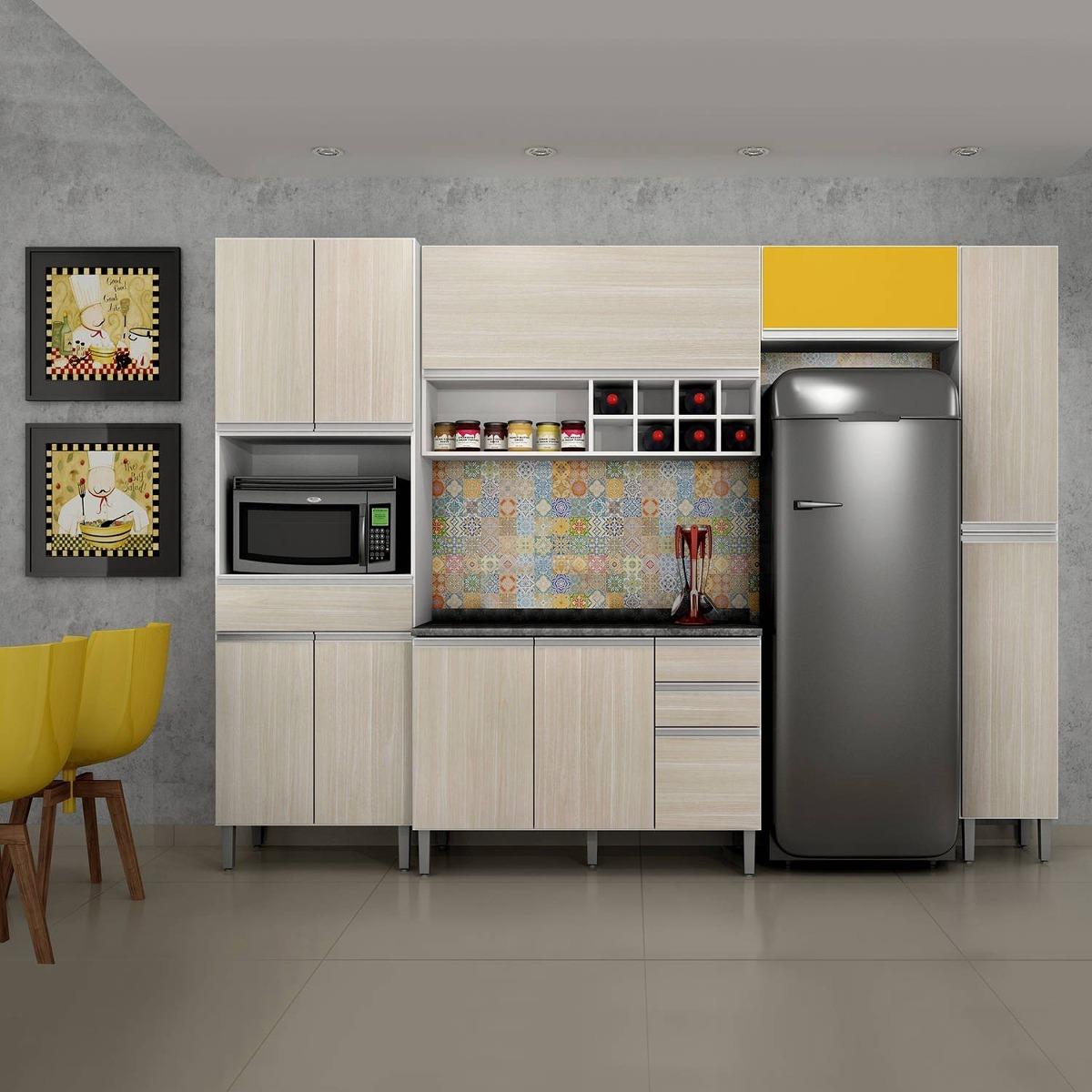 Cozinha Completa Balc O Com Tampo 5 Pe As Carrara I He R 1 349 90
