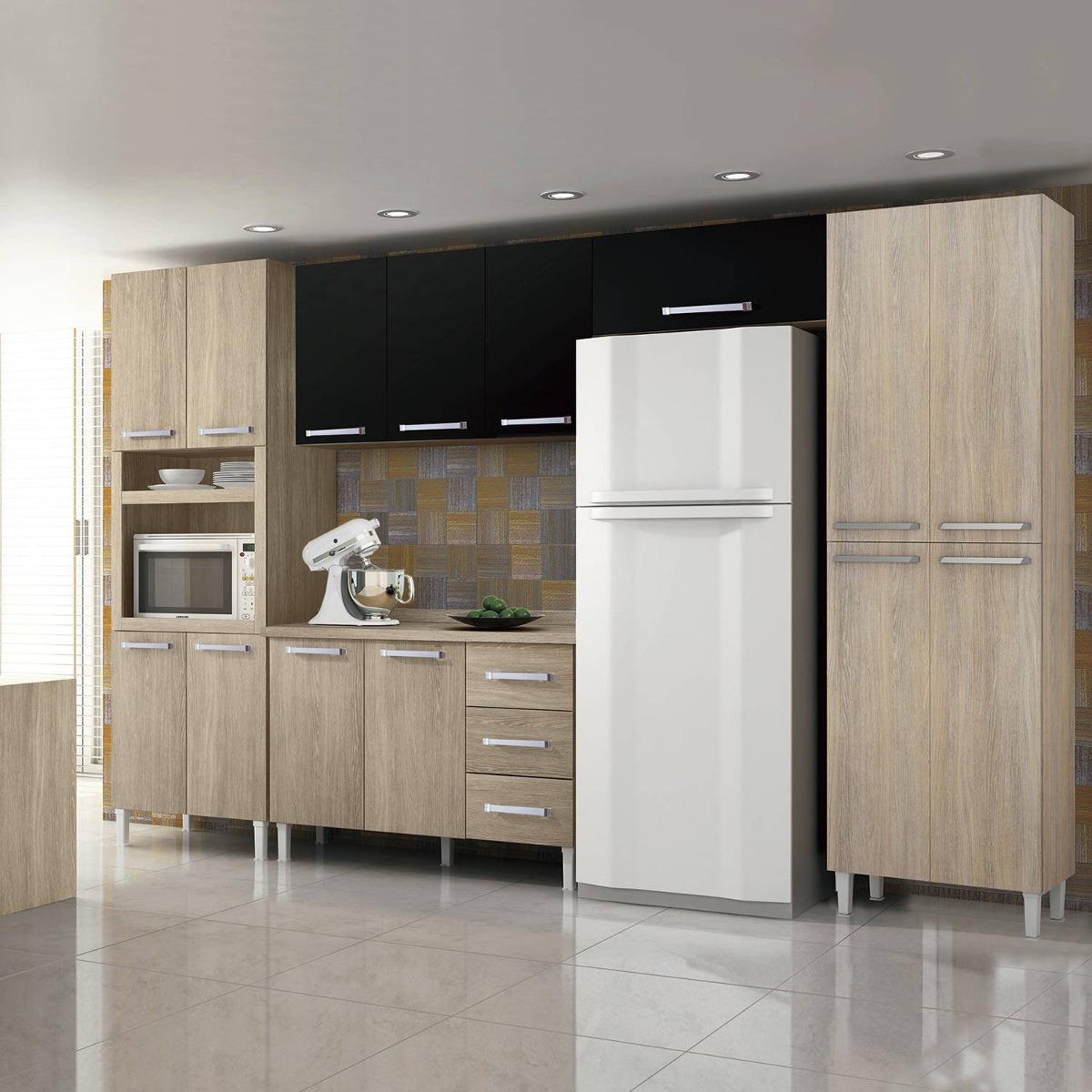 Cozinha Completa Balc O Com Tampo 5 Pe As Ii Master Fe R 1 599 90