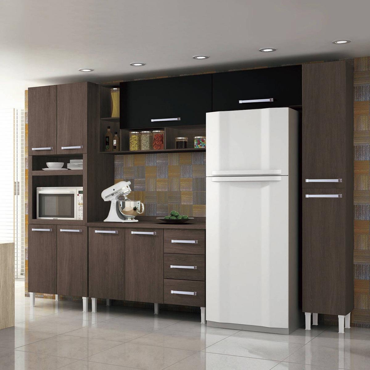 Cozinha Completa Balc O Com Tampo 5 Pe As Sophia Dh R 1 399 90 Em