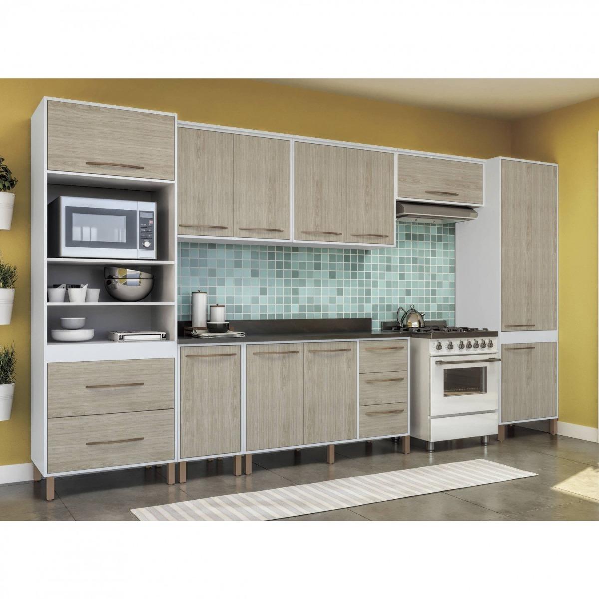 Cozinha Completa Balc O Com Tampo 7 Pe As Ervilha Eewt R 1 593 50