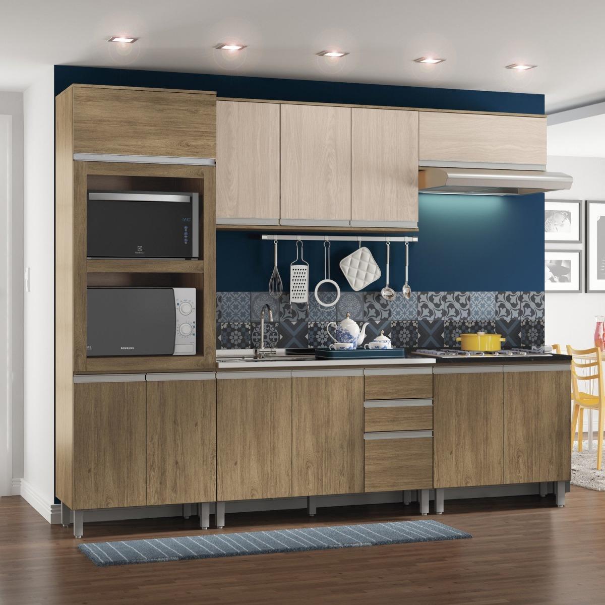 Cozinha Completa Balc O Com Tampo Para Cooktop 5 Gg R 1 119 90 Em