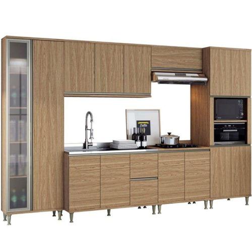 cozinha completa belaflex 14 portas 2 gavetas 6 peças