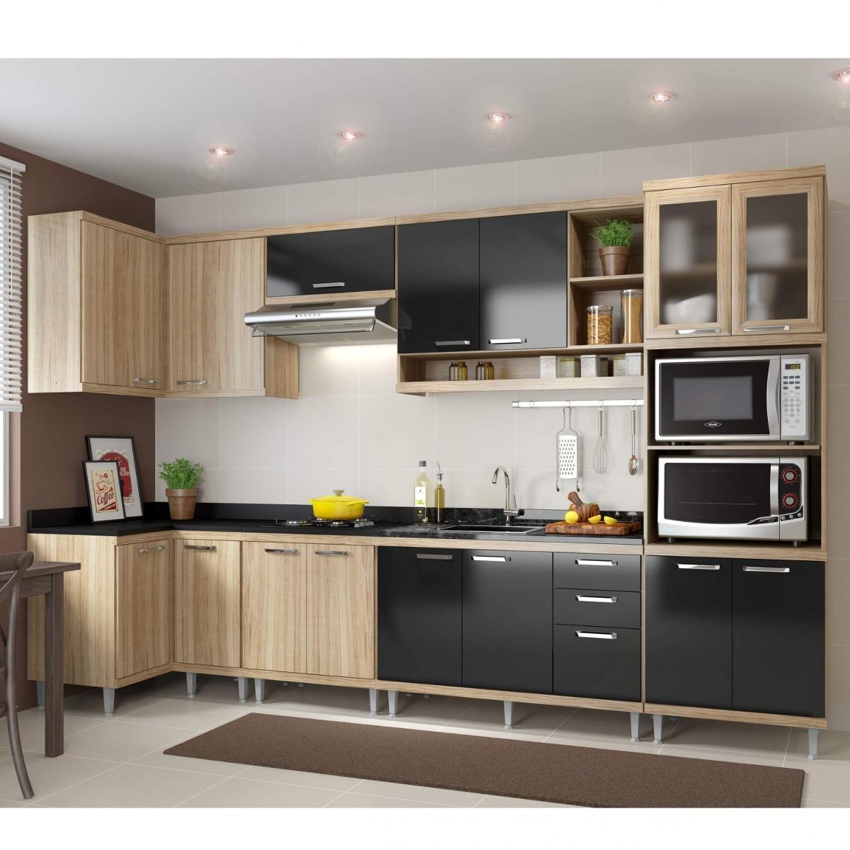 Cozinha Completa Canto Com Balc O Sem Tampo 7 Pe As F R 2 699 90
