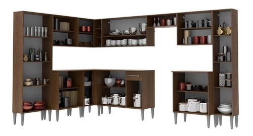 cozinha completa canto madesa emillybigc/ armário e balcão