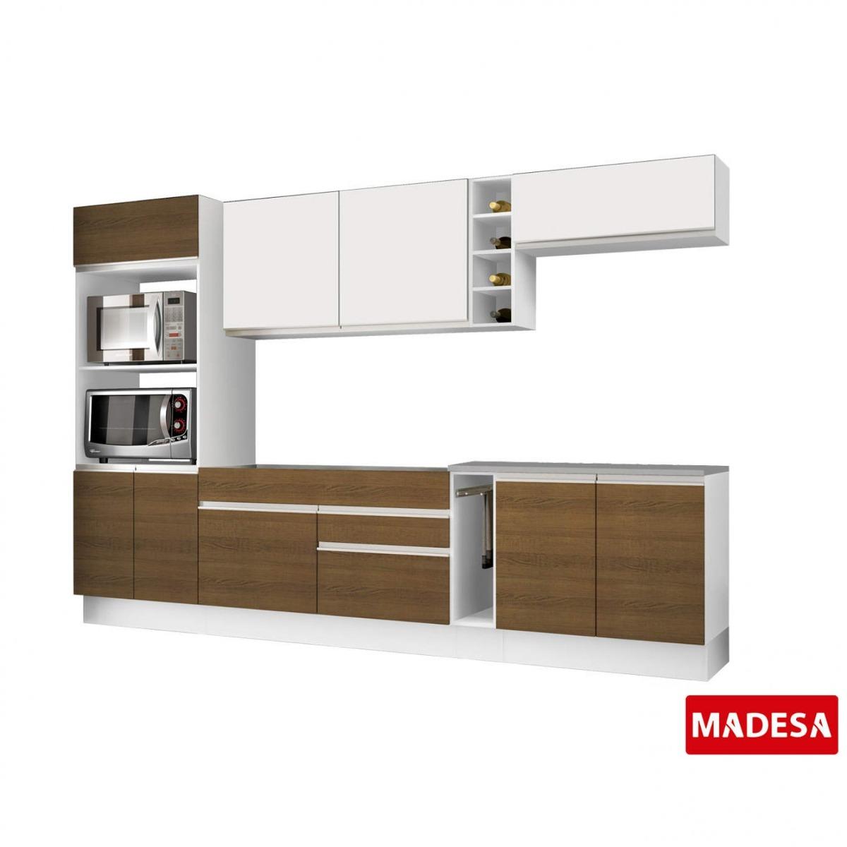 Cozinha Completa Com Balc O Sem Pia E Tampo 7 Pe As Ia R 1 489 90