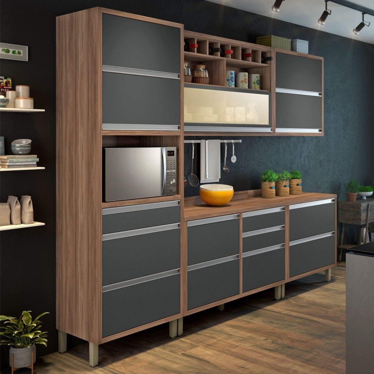 Cozinha Completa Com Balc O 5 Pe As Baronesa Nesher Bc R 2 199 90