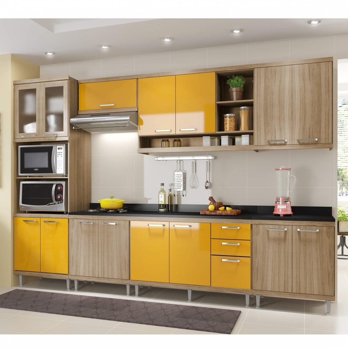 Cozinha Completa Com Balc O Com Tampo 8 Pe As 15 Ce R 2 599 90 Em