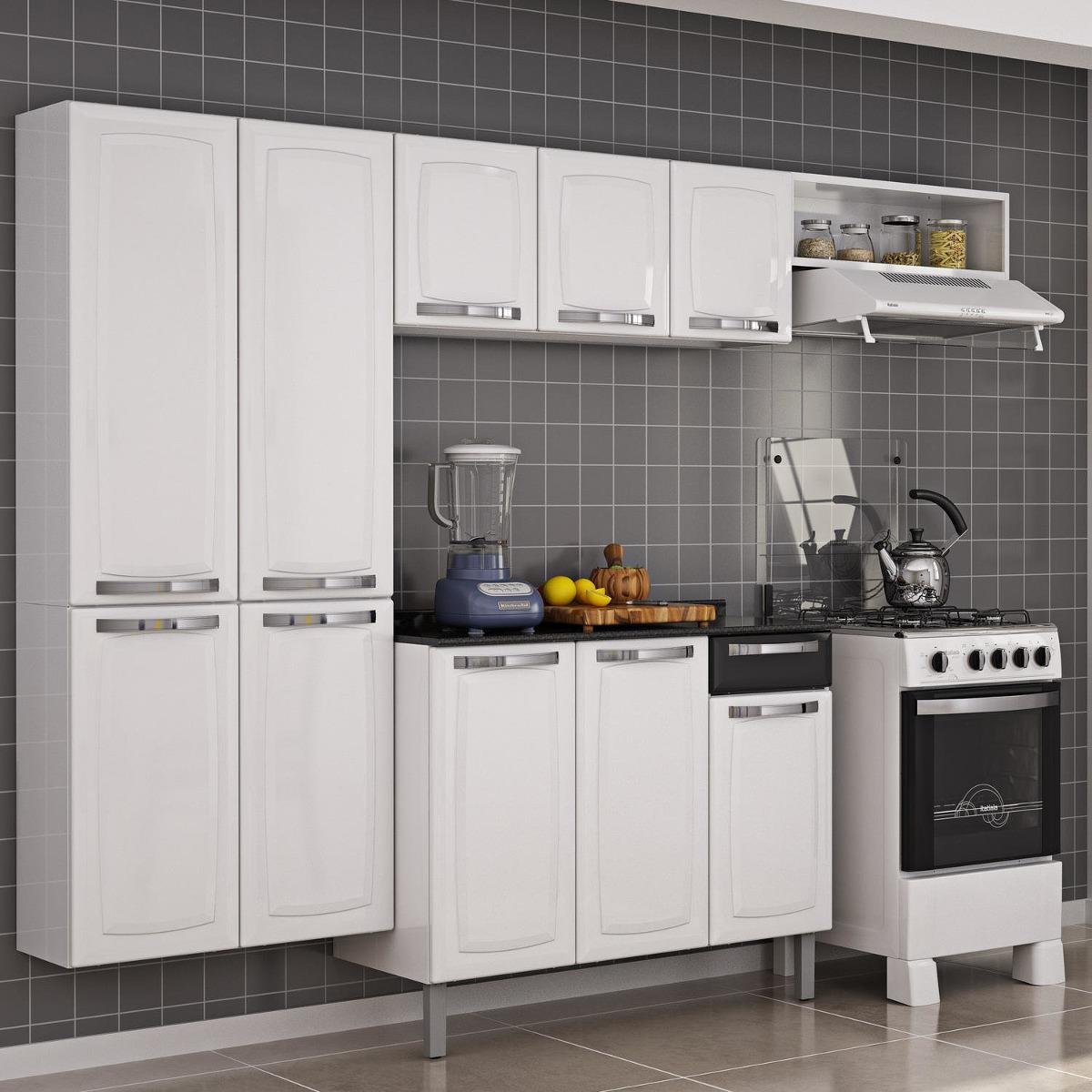 Cozinha Completa Com Balc O Rose Itatiaia Jh R 789 90 Em Mercado