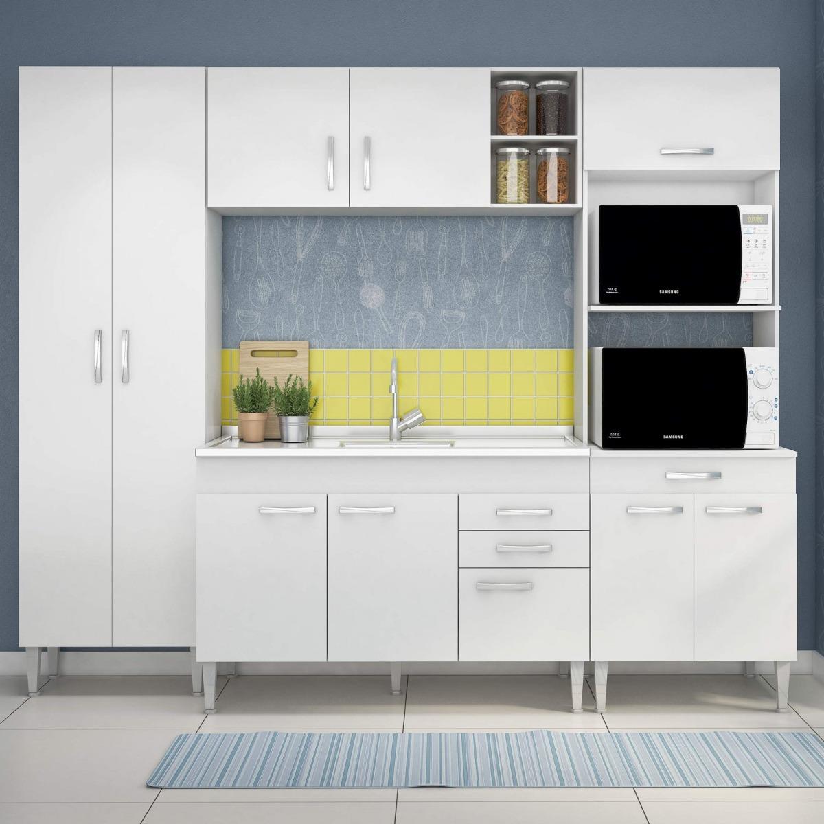 Cozinha Completa Com Balc O Sem Pia 4 Pe As 10 Gf R 909 90 Em