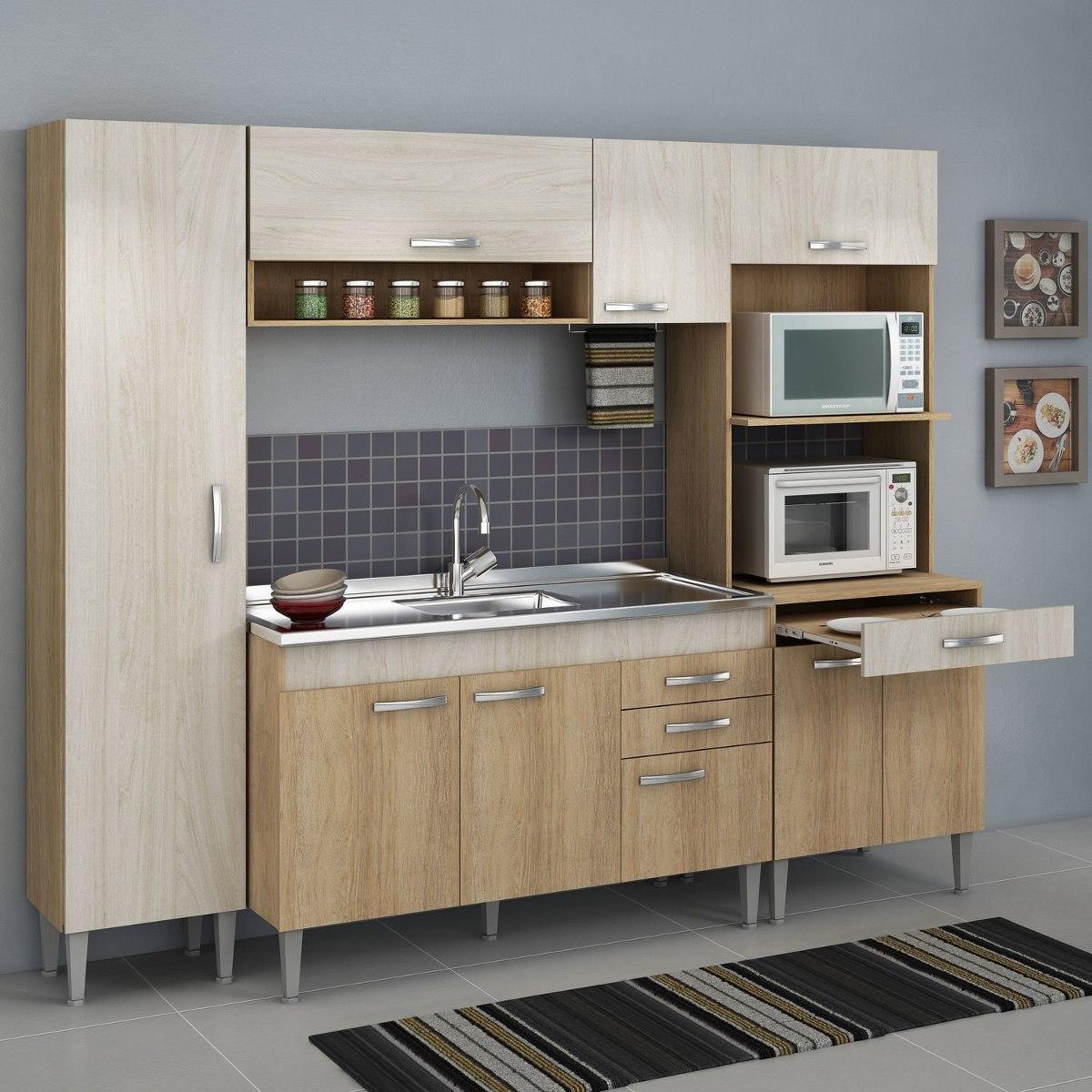 Cozinha Completa Com Balc O Sem Pia 4 Pe As 9 Portas Eb R 799 90